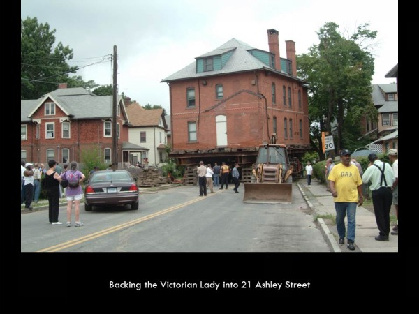 Moving the Victorian Lady - Day 2